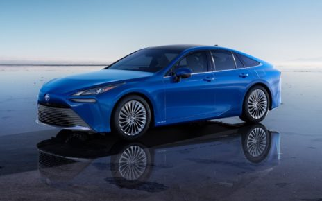 La Toyota Mirai à hydrogène disponible en mi-2021