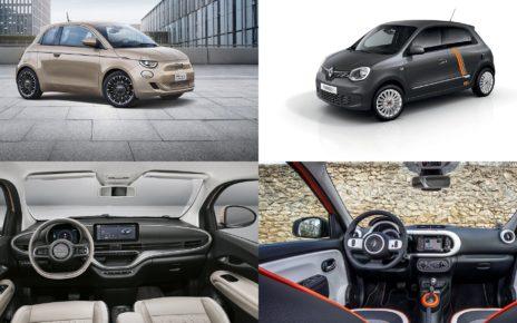 La nouvelle Fiat 500 électrique face à la Renault Twingo Electric
