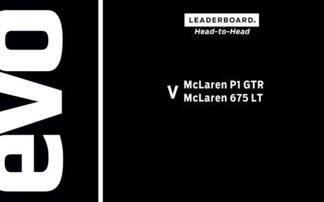 McLaren P1 GTR v McLaren 675 LT | evo LEADERBOARD head to head