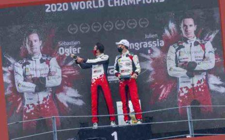 Cinq jours après son titre mondial, Sébastien Ogier prépare déjà la saison 2021