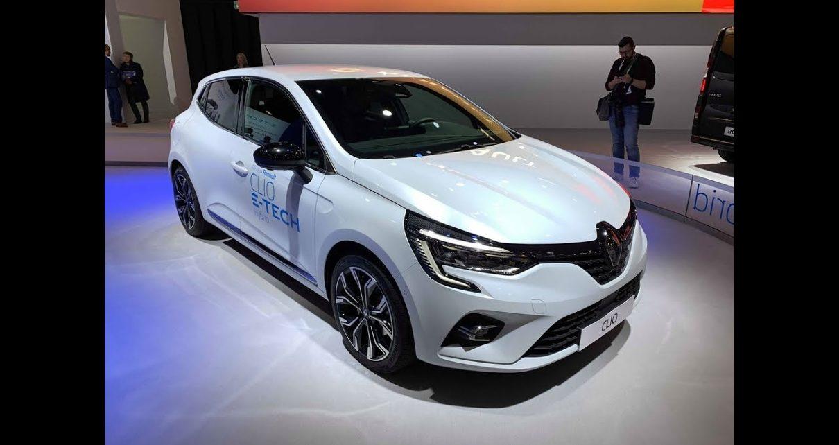 Renault présente les Clio hybride et Captur hybride rechargeable - En direct du salon de Bruxelles