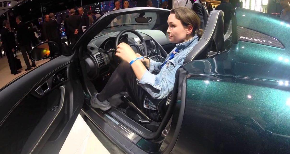 360° Jaguar Project 7 - Mondial Auto de Paris 2014