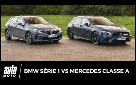 BMW Série 1 vs Mercedes Classe A : duel sous pression