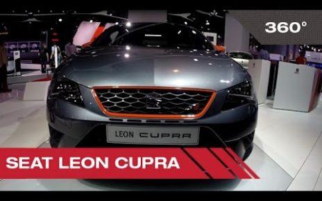 360° Seat Leon Cupra - Mondial Auto de Paris 2014