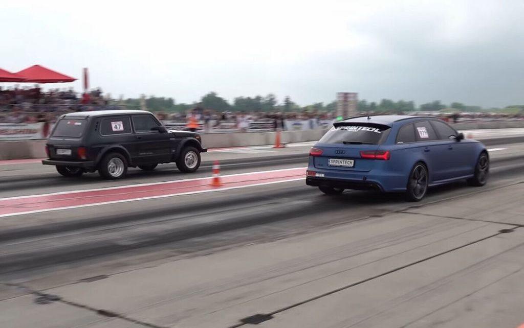 Vidéo : ce Lada Niva est équipé d'un V8 turbo de 1.500 ch !