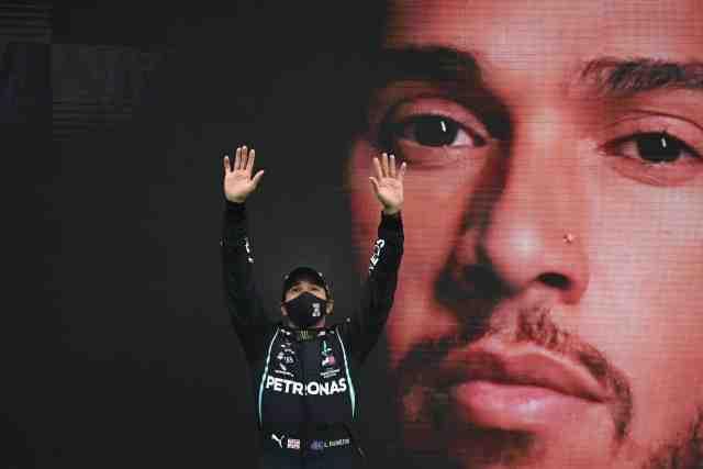 Lewis Hamilton désigné personnalité sportive britannique de l'année par le public de la BBC