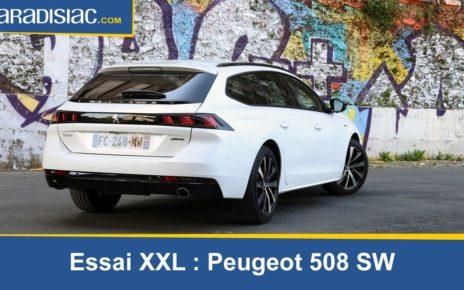 Essai XXL : Peugeot 508 SW