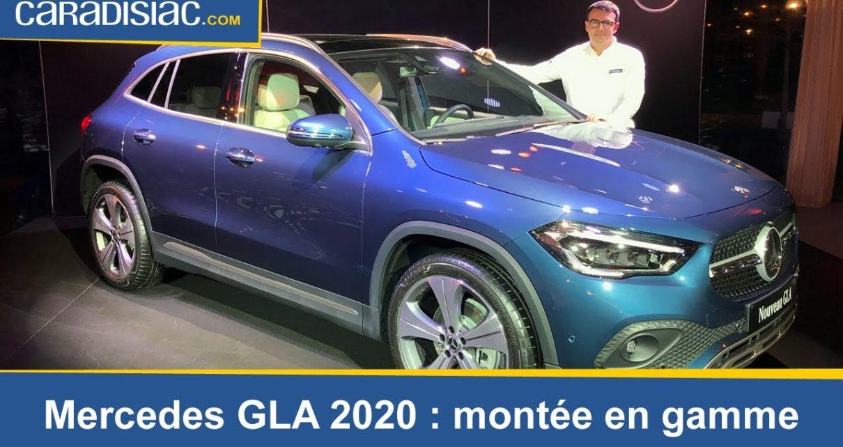 Présentation Mercedes GLA 2020 : la montée en gamme