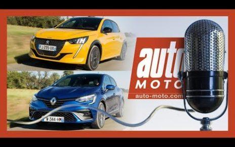 Peugeot 208 vs Renault Clio : le grand match, toutes les versions - PODCAST