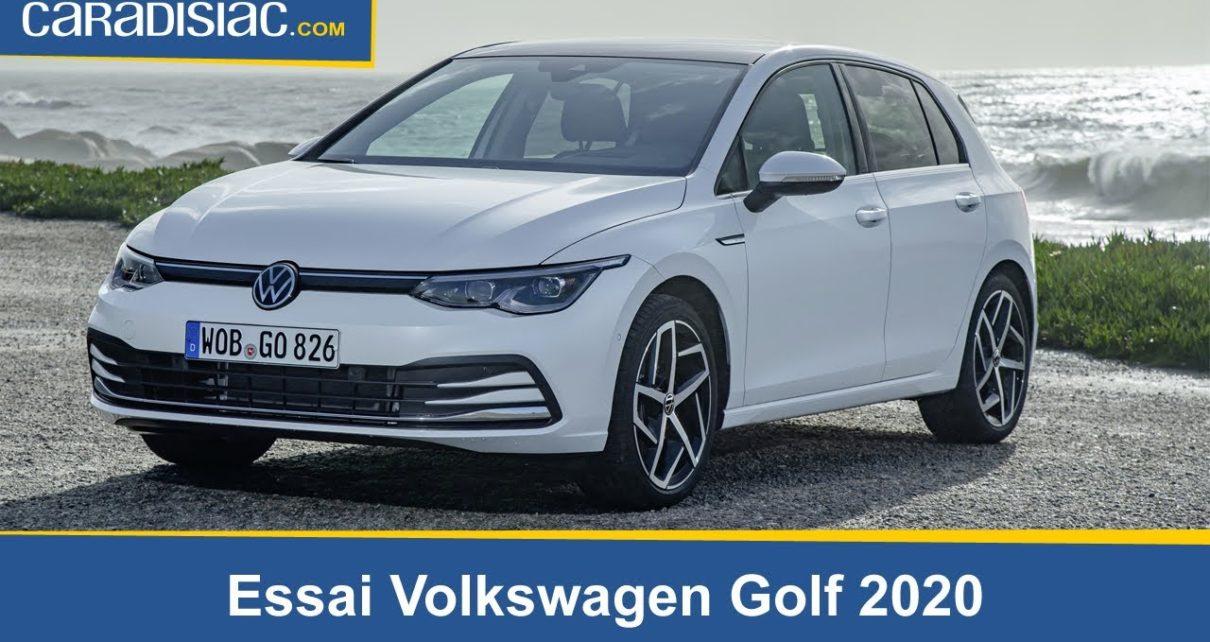 Essai - Volkswagen Golf 2020 : digitalement vôtre