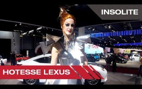 Hotesse Lexus - Mondial Auto de Paris 2014