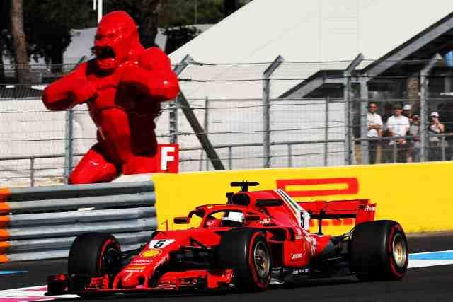 Revue de pilotes chez Ferrari