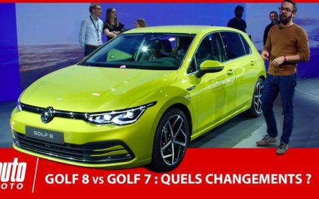 Nouvelle Volkswagen Golf 8 vs Golf 7 : quels changements ?