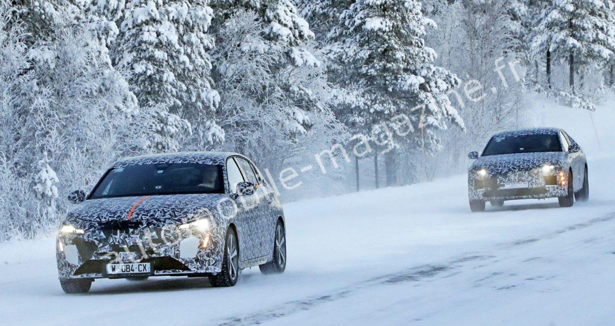 La future Peugeot 308 de nouveau aperçue avec la DS4 2021