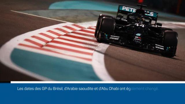 La saison débutera au GP de Bahreïn, Imola ajouté