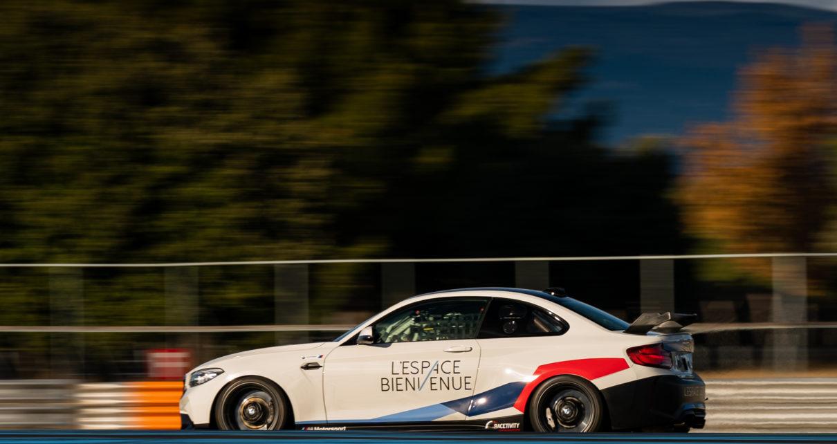 On a serré les fesses en BMW M2 CS Racing