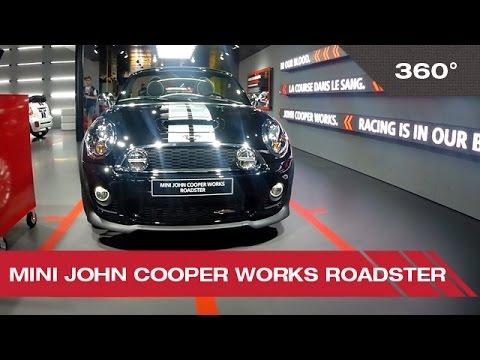 360° Mini John Cooper Works Roadster - Mondial Auto de Paris 2014