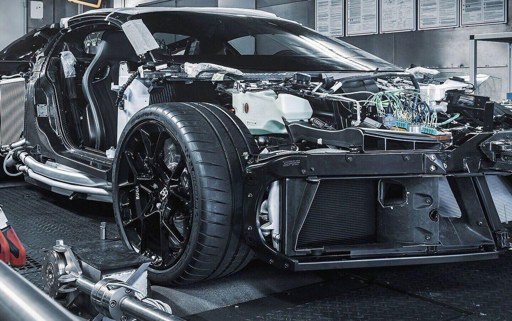 Bugatti Centodieci (2022) : la production en série se prépare...