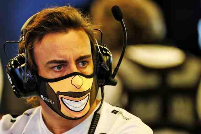 Fracture de la mâchoire pour Fernando Alonso