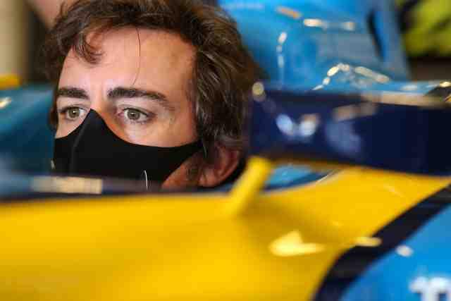 Fernando Alonso, après son accident de vélo: «Je vais bien»