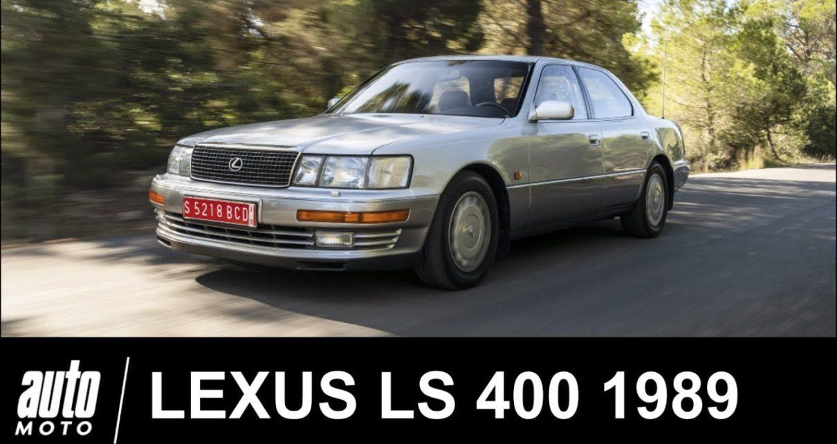 LEXUS LS 400 1989 Essai de la 1ère LEXUS Auto-Moto.com