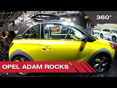 360° Opel Adam Rocks - Mondial Auto de Paris 2014