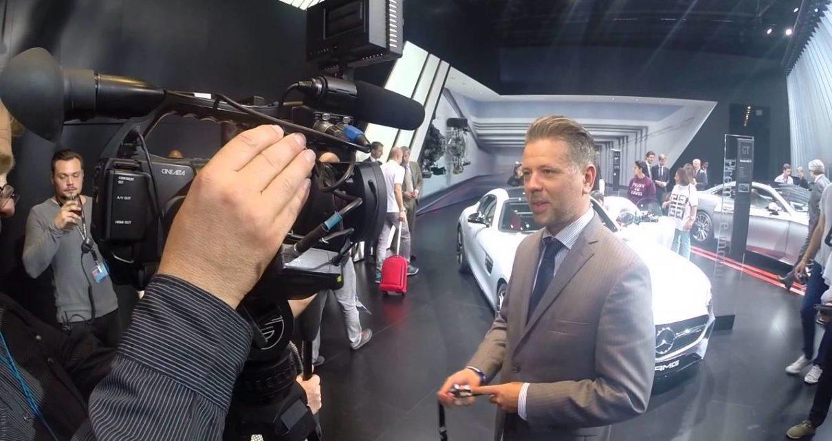 Stand Mercedes - Mondial Auto de Paris 2014