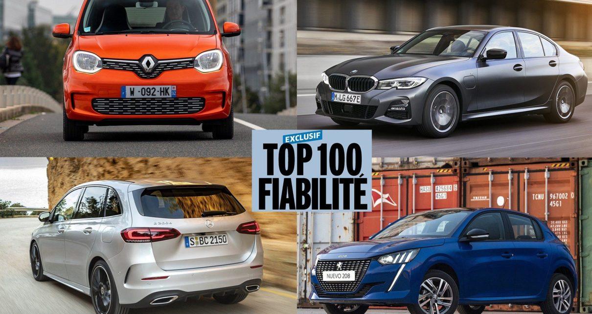 Exclusif : les 100 voitures les plus fiables