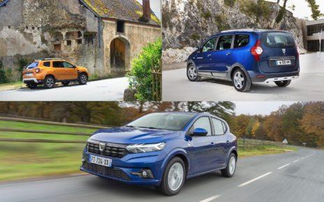 La fiabilité des voitures Dacia Sandero, Duster et Lodgy en 2021