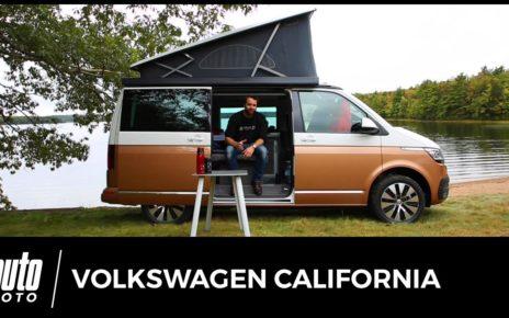 Volkswagen California 2019 ESSAI Français AUTO-MOTO.COM