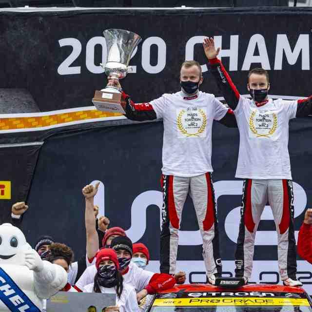 Mads Ostberg défendra son titre en WRC2