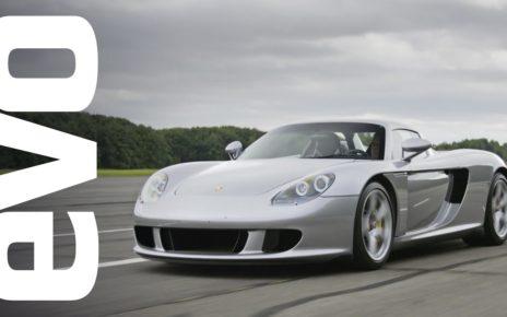 Porsche Carrera GT driven | evo ICONS