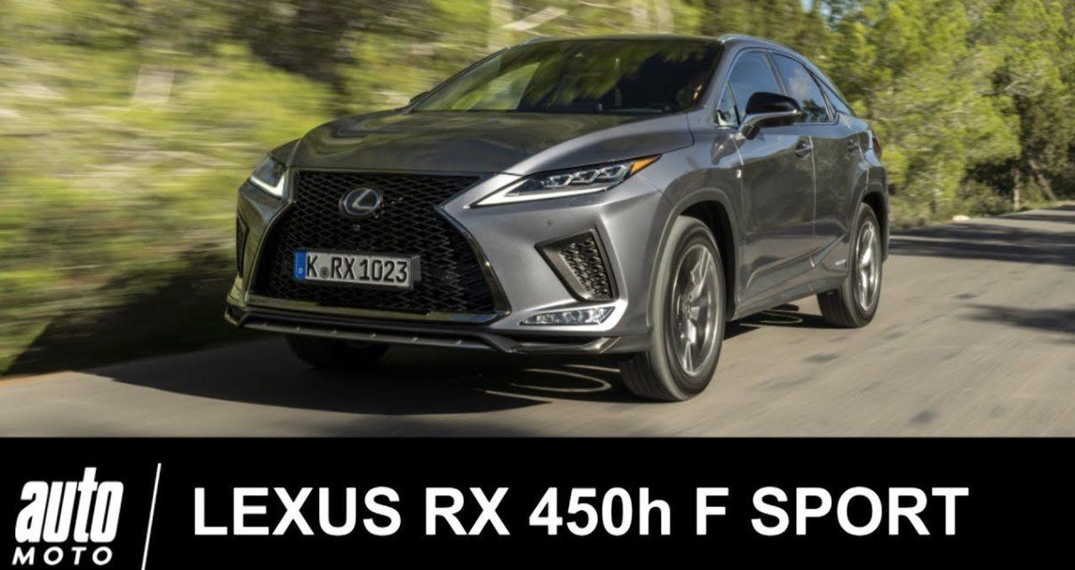 2020 LEXUS RX 450h Hybrid F SPORT essai Auto-Moto.com