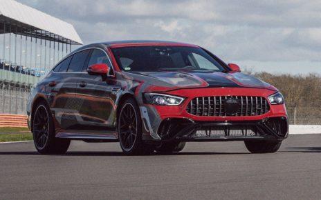 Avant-goût de la Mercedes AMG GT Coupé 4 Portes hybride rechargeable (2021)