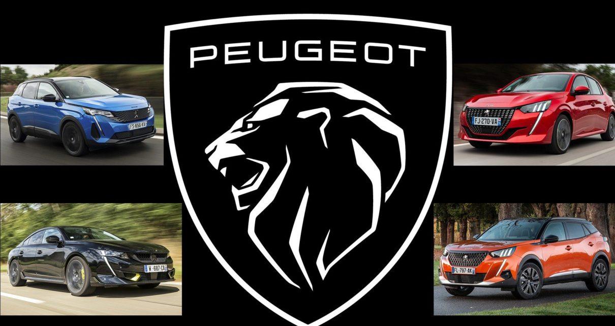 Nouveau logo Peugeot avant la présentation de la nouvelle 308