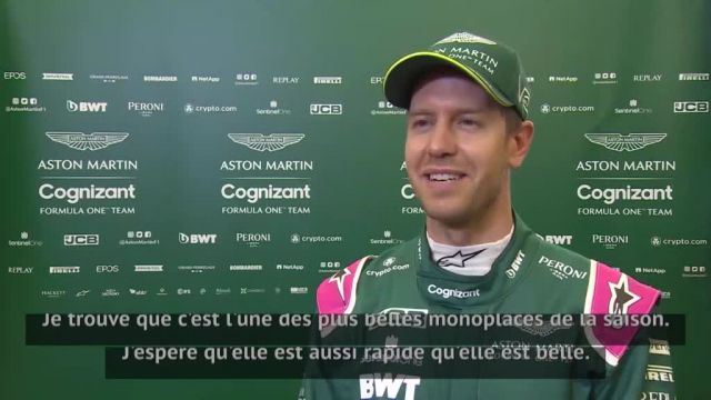 SebastianVettel (Aston Martin): «Je suis là pour gagner»