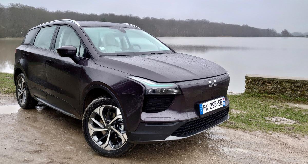 le SUV chinois électrique qui mise sur le prix et la forme
