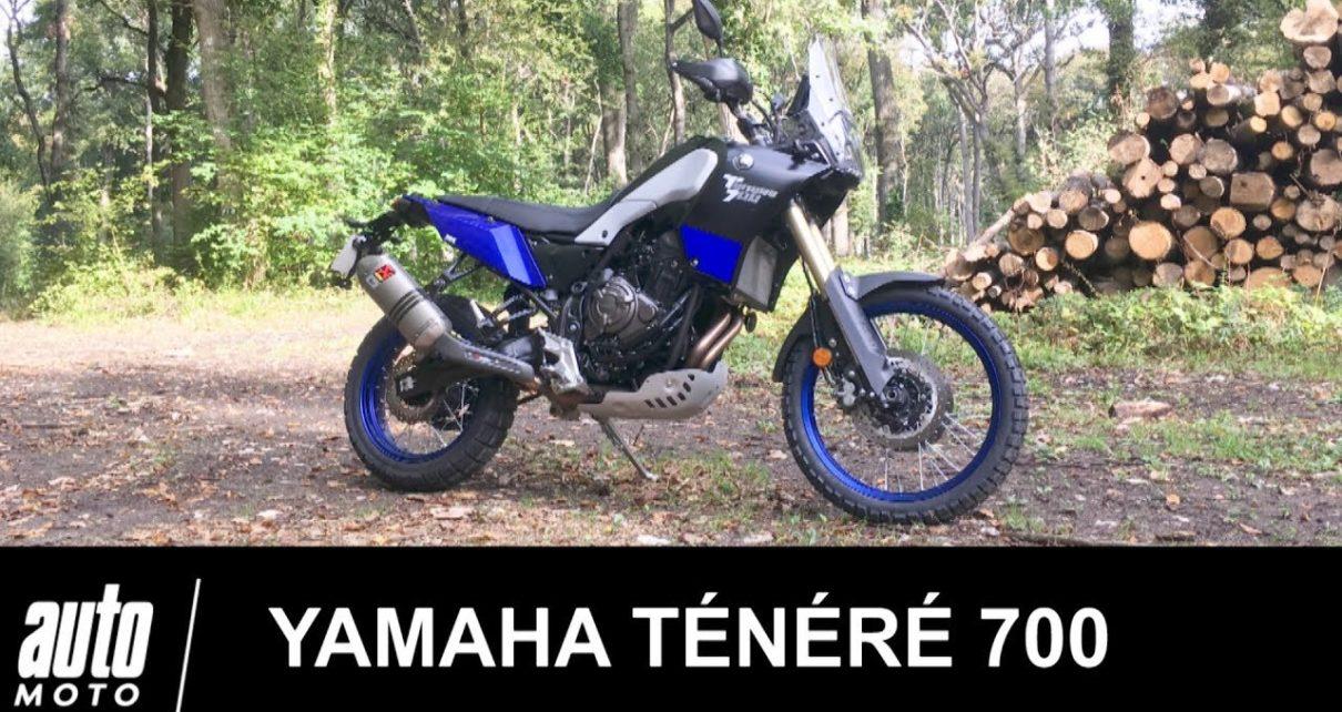 Yamaha Ténéré 700 Pack Rallye ESSAI Auto-Moto.com