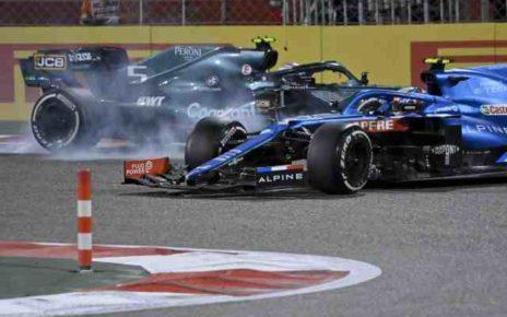 Pénalité de cinq points pour Sebastian Vettel à Bahreïn