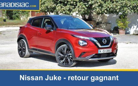 Essai - Nissan Juke 2 (2019) : retour gagnant