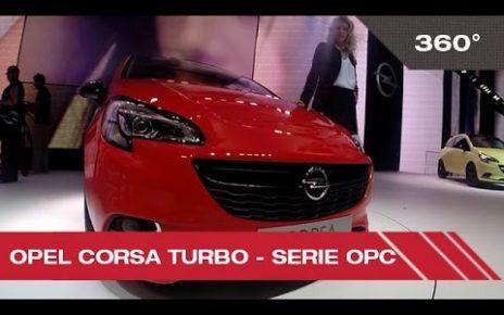 360° Open Corsa Turbo - Mondial Auto de Paris 2014