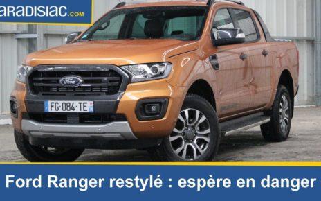 Essai - Ford Ranger restylé (2019) : espèce en danger