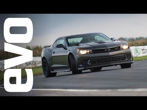 Chevrolet Camaro Z/28 onboard | evo Track Car of the Year