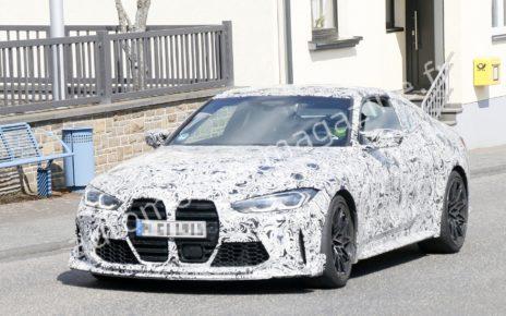 BMW M4 CS/CSL : les photos espion de la bavaroise épicée