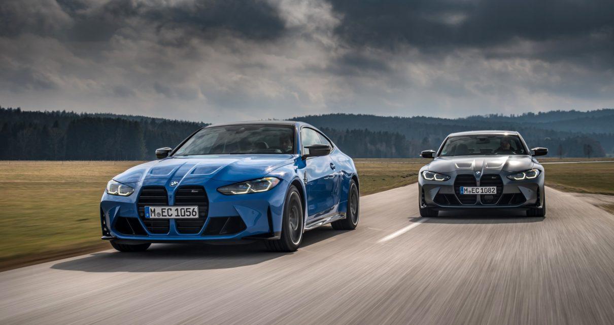 Les BMW M3 et M4 débarquent en 4 roues motrices
