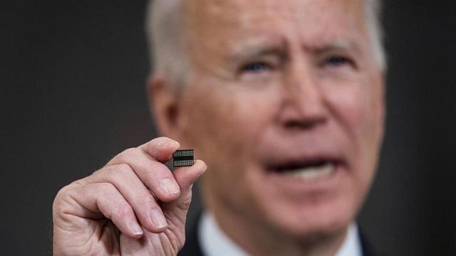 Pénurie de puces:Biden réunit 20 dirigeants à la Maison Blanche