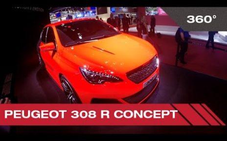 360° Peugeot 308 R concept - Mondial Auto de Paris 2014