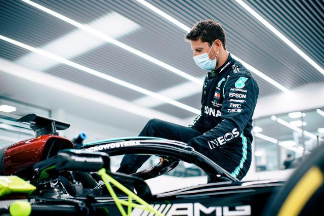 Romain Grosjean roulera avec la Mercedes de 2019 au Grand Prix de France