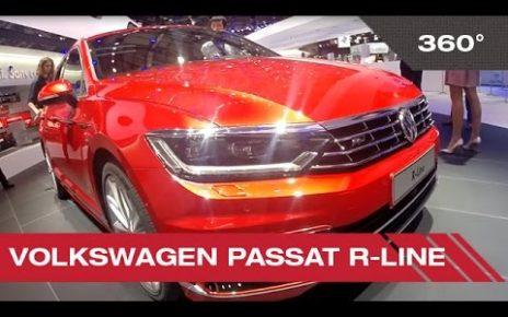 360° Volkswagen Passat R-line - Mondial Auto de Paris 2014