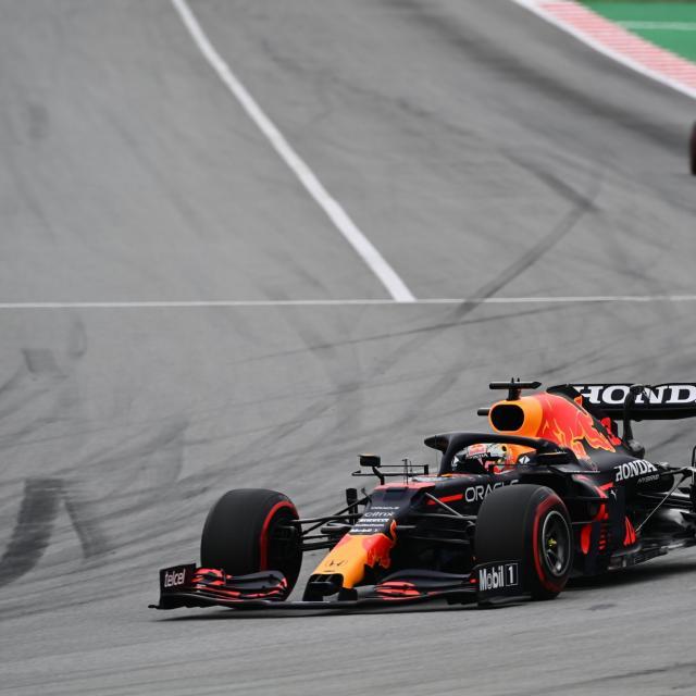 Max Verstappen plus souvent en tête que Lewis Hamilton en 2021